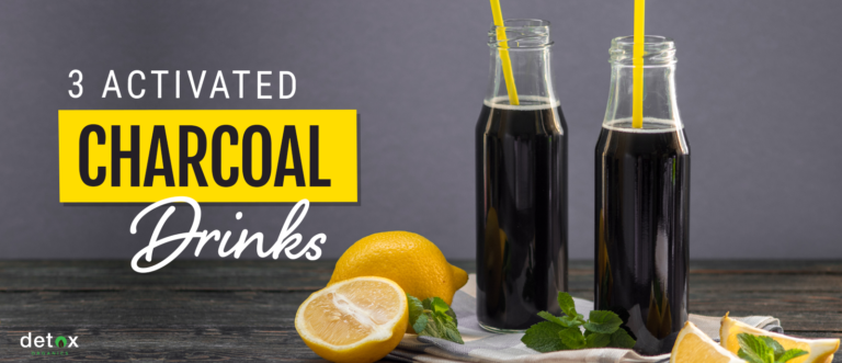 3 Activated Charcoal Drinks