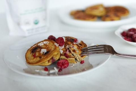 Keto Raspberry Pancakes Image 2